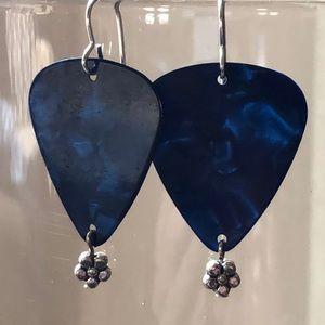 Jewelry - Guitar pick earrings